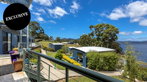Freehold Passive Investment, Caravan / Cabin Park | TAS - Hobart | Tasmania; A Diamond Investment in the Apple Isle