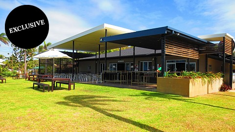 Freehold Going Concern, Caravan / Cabin Park | QLD - Cairns | Hotel Motel & Caravan Park Situated on 22,000sqm, Located on Absolute Beachfront