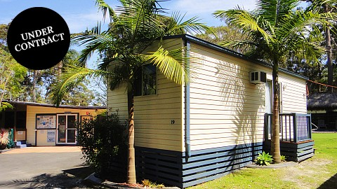 Freehold Going Concern, Caravan / Cabin Park | NSW - South Coast | Freehold Caravan Park Close to the Shores of St Georges Basin