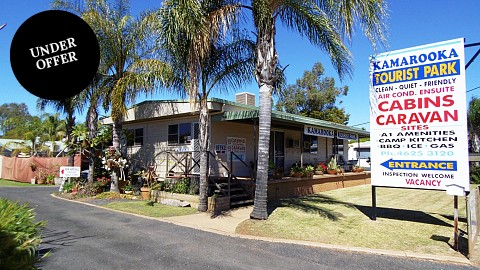 Freehold Passive Investment, Caravan / Cabin Park | QLD - South | A Rare Find Indeed Passive investment Caravan Park
