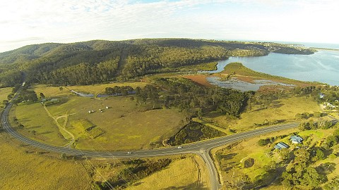 Freehold Going Concern, Caravan / Cabin Park | NSW - South Coast | Riverfront Acreage with Income and Subdivision Potential