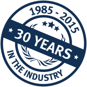 30 Years in the industry