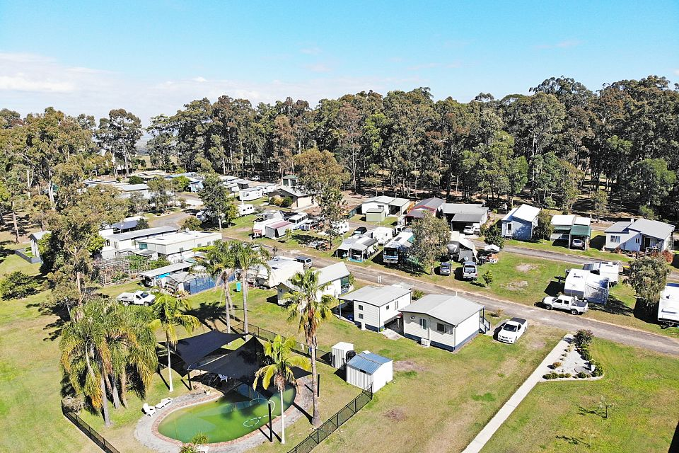 Freehold Caravan Park in Beautiful Northern NSW