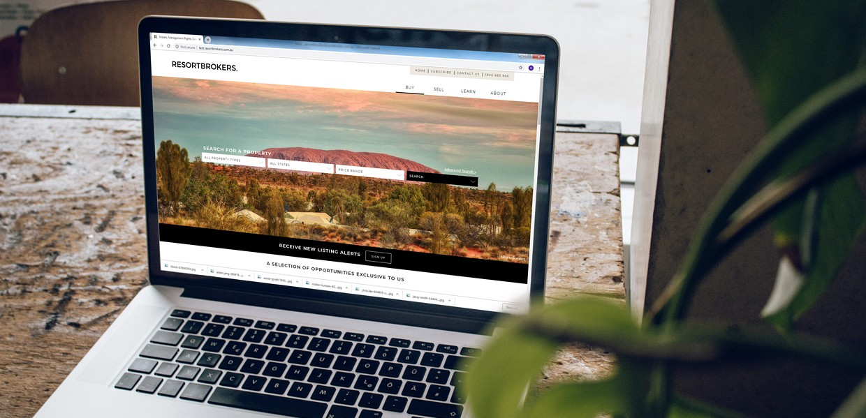 ResortBrokers launches new look website