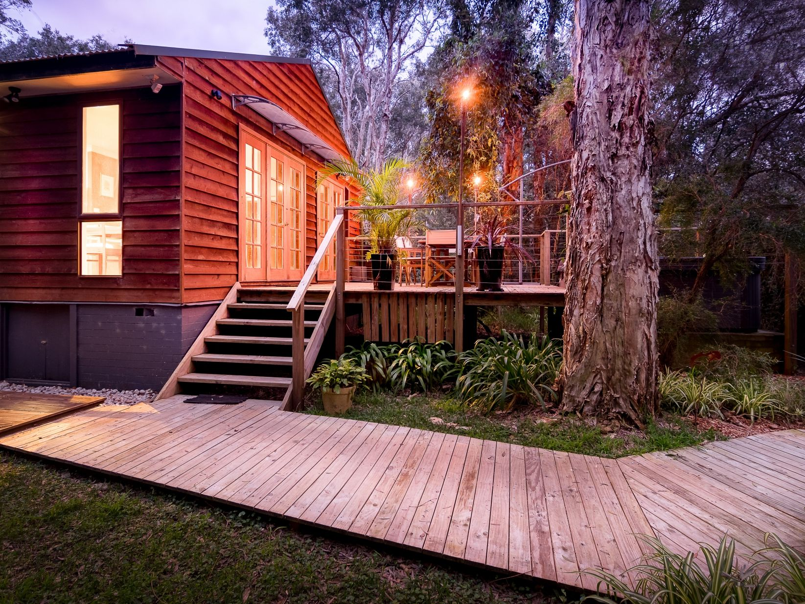 Incredible Eco Retreat Metres from the Beach in Port Stephens