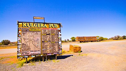 The Kulgera Roadhouse in Outback Northern Territory is for Sale