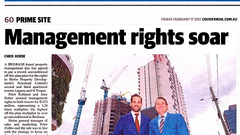 Management rights soar