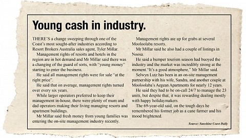 Young Cash in Industry