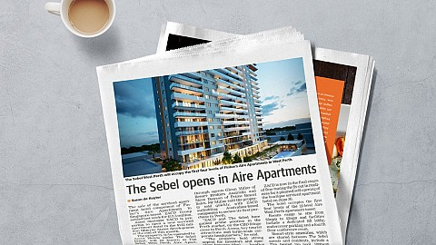 The Sebel Opens In Aire Apartments