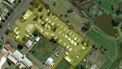 Freehold Going Concern, Caravan / Cabin Park | NSW - North West | Freehold Caravan Park in Picturesque NSW Town